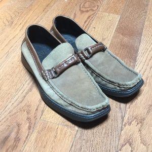 Donald J Pliner Leather Loafers